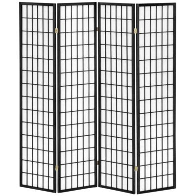 alcove 4panel folding room divider