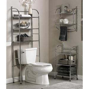 Alcove 3 Pc. Steel Bath Furniture Set