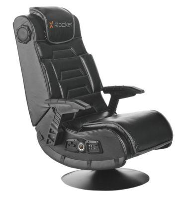 McLeland Design X Rocker Pro Series Bluetooth Pedestal Chair