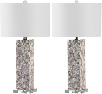 Safavieh jacoby table lamp set of 2