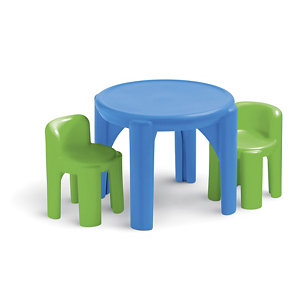 little tikes bright n bold table and chairs set - Little Tikes Garden Chair