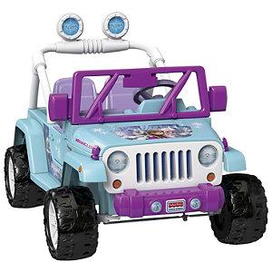 Gettington Fisher Price Power Wheels Smart Drive Disney Frozen