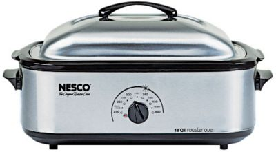 Nesco 18 qt. Stainless Steel Roaster Oven photo
