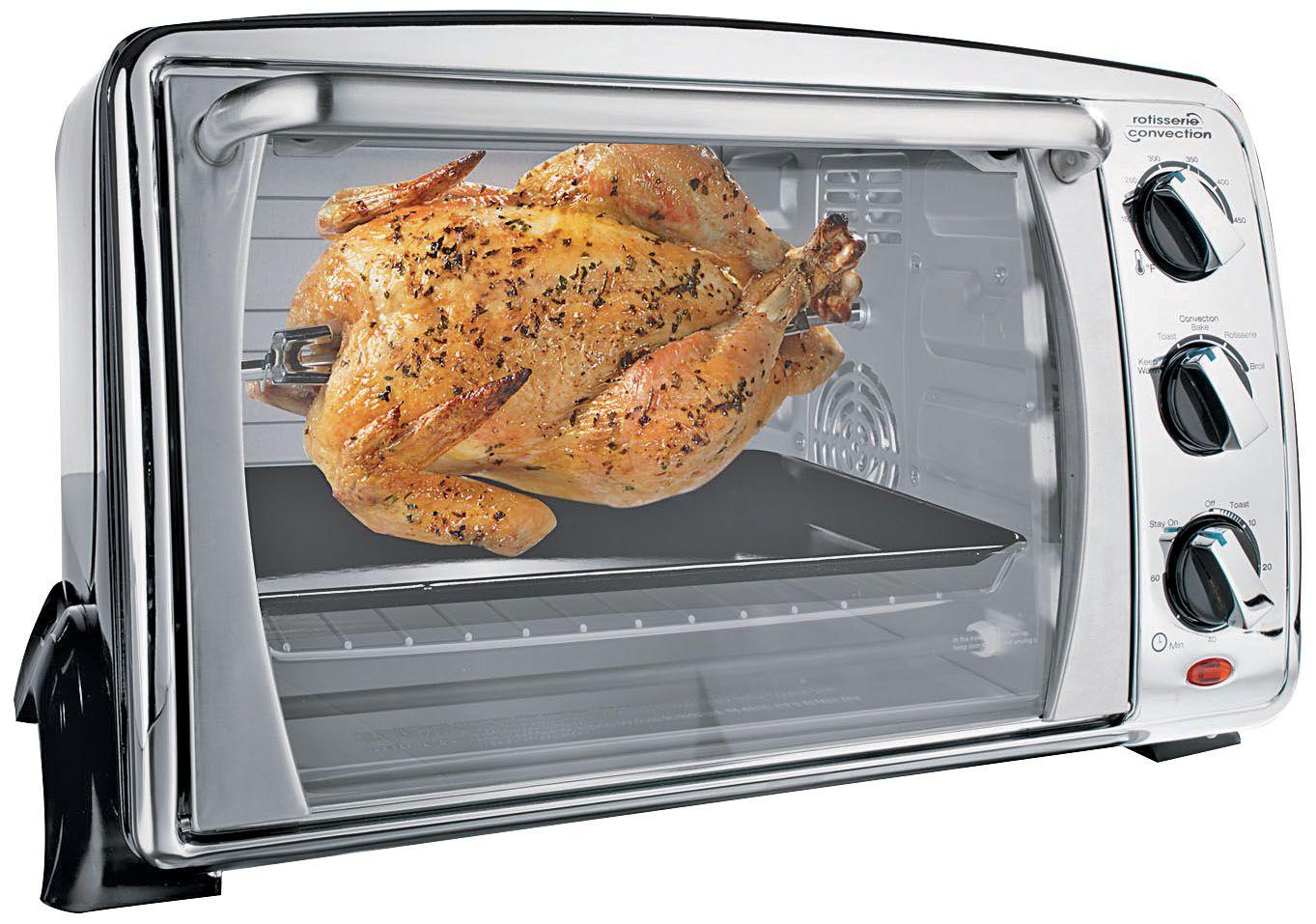 Fingerhut Euro Pro Convection Countertop Toaster Oven