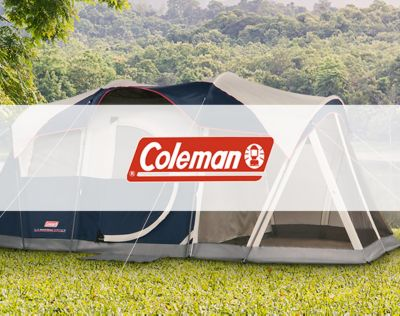 Coleman. Legendary outdoor gear. Up to 25% OFF*