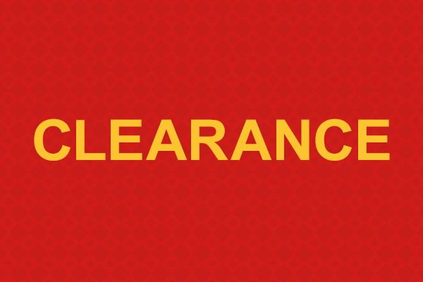 Save up to 70% on Clearance Items!