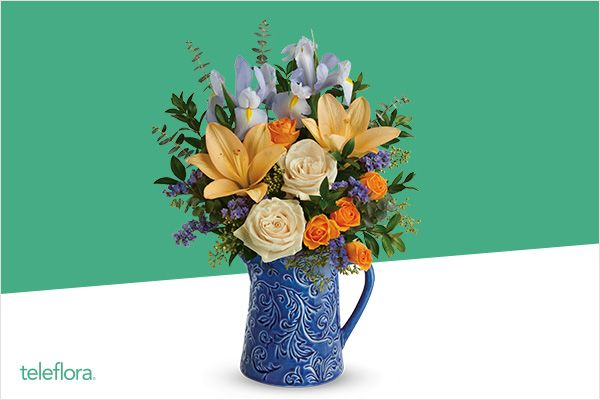 Shop Easter arrangements from teleflora&#174 and use your WebBank/Fingerhut Credit Account!