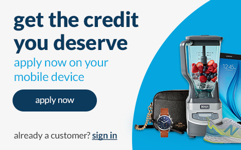 get the credit you deserve start shopping today apply now.  apply and get an instant decision