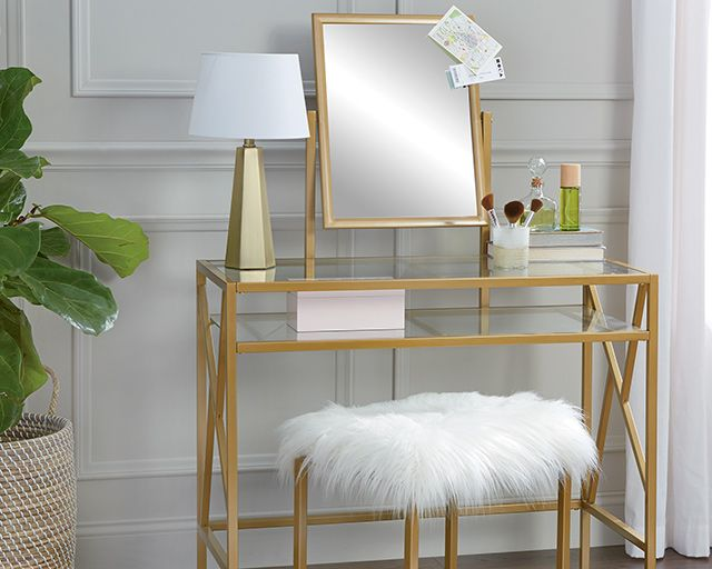 now trending, our favs, links to glam style furniture