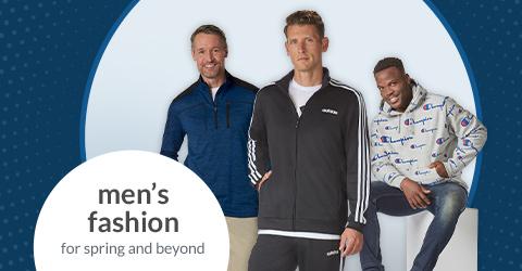 men's fashion shop page hero