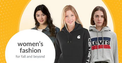 women's fashion shop page hero