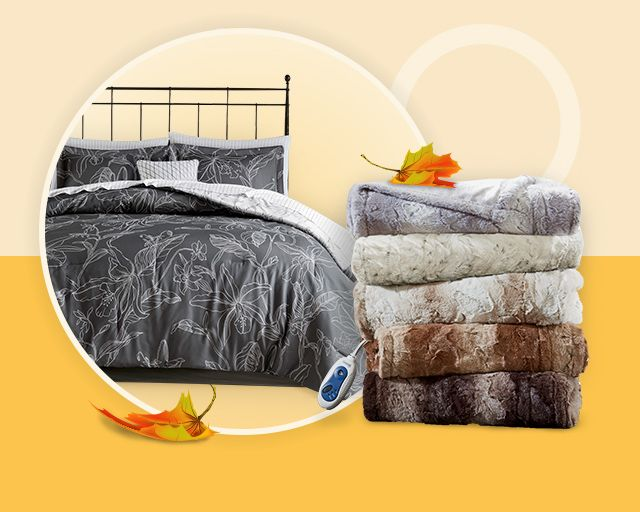 fall bedding shop