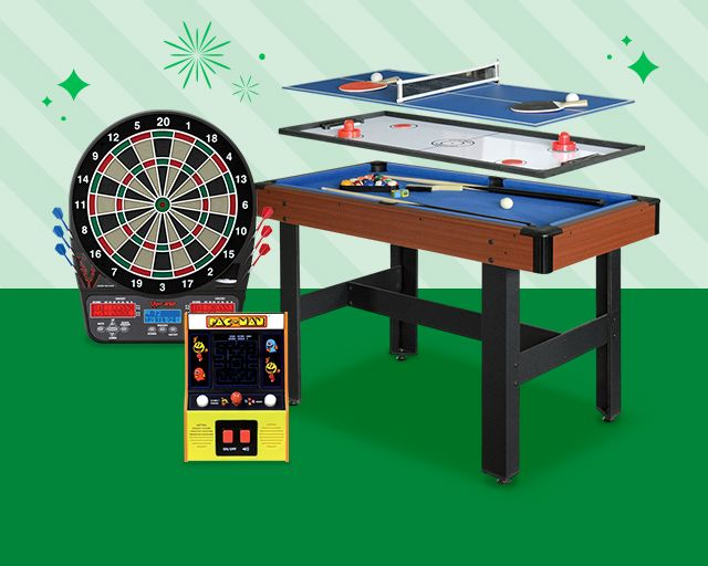 games & more, keep the party going