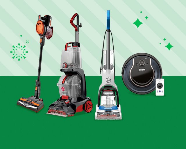 vacuums & floorcare, stay on top of the merry mess