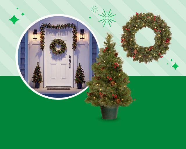 spirits bright, holiday decor