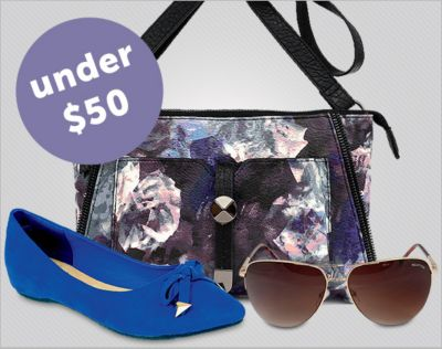 Fashion Finds for Her. From Nine West, Lucky Brand, Guess, more. Under $50