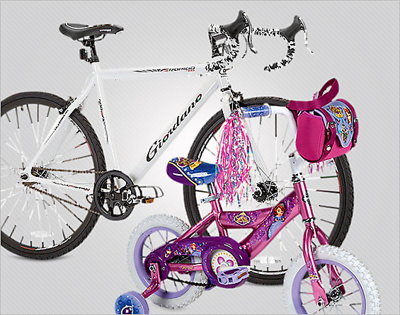 Fun on Wheels! Deals on bikes and accessories. Up to 50% OFF*