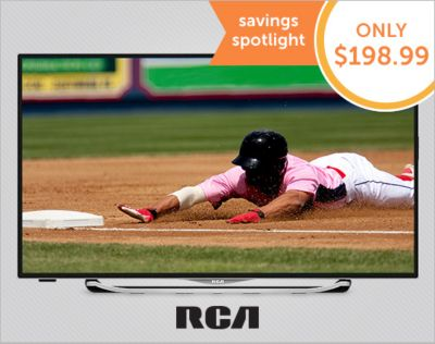"RCA 32"" LED Smart HD TV. Popular features at a great price. 20% OFF*."