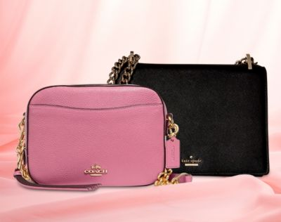 Heavenly Handbags from Coach, Kate Spade, Rebecca Minkoff, more. 25% OFF with promo code GET922.