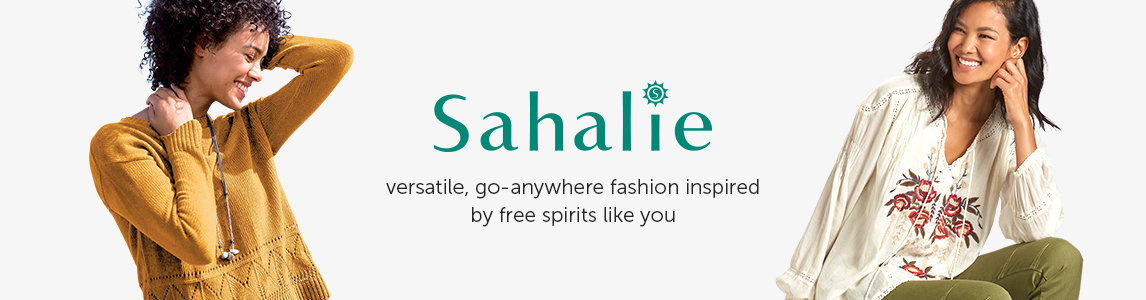 Sahalie - versatile, go-anywhere fashion inspired by free spirits like you