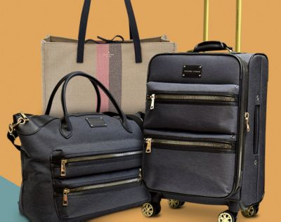 Spring Break Luggage/Handbags. from Kate Spade, Ralph Lauren, Samsonite, more. Free Shipping with promo code GET459.