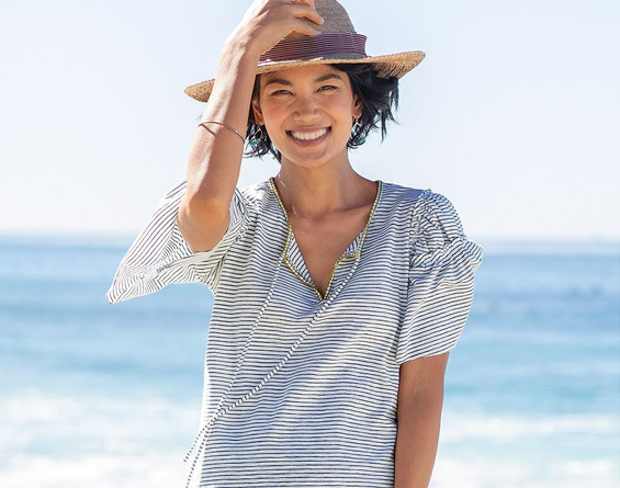 July 4th: Clothing - 20% off for her from Free People, Levi's, Democracy, Sahalie, more!