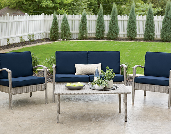 July 4th: Patio Furniture - Save 20% save on party-ready sets, chairs, benches, more!