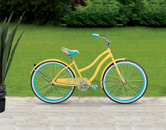 Yellow Women's Huffy Bicycle