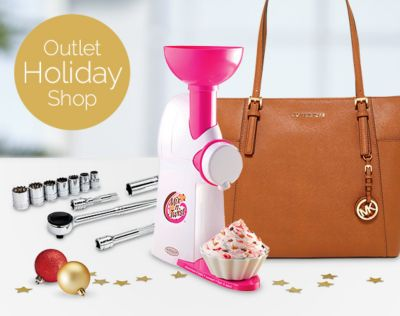Outlet Holiday Shop. A shop full of holiday deals you'll love. SHOP NOW.