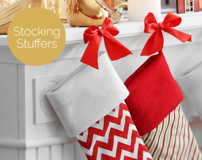 Stocking Stuffers. Great little presents for everyone. SHOP NOW.