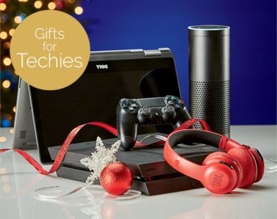 Gifts for Techies. They'll love these gadgets. SHOP NOW.