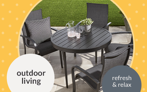 Outdoor Living landing-page hero banner