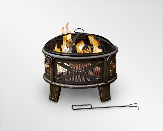 Dyna-Glo Premium 5 Burner Grill Cover - Black, DG500C