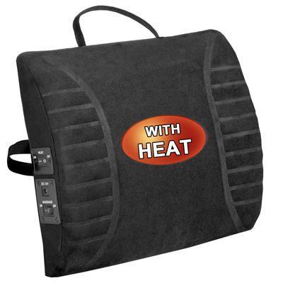 Massage Lumbar Cushion w/Heat