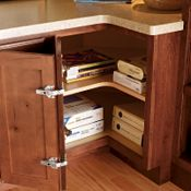Desk Easy Reach Cabinet