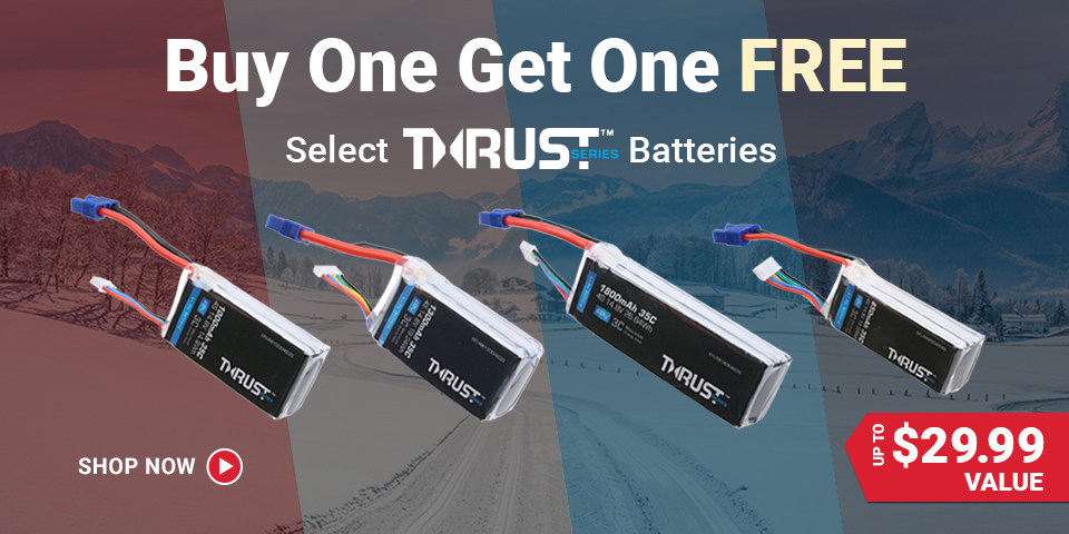 Thrust Battery Buy One/Get One Sale