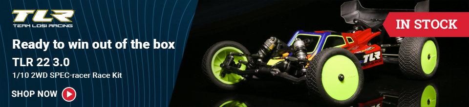 TLR03010 TLR 1/10 22 3.0 SPEC-Racer MM 2WD Buggy Race Kit
