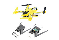 Zeyrok BNF with Camera and Landing Gear, Yellow