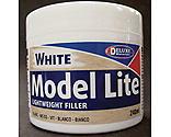 Deluxe Materials - Model Lite Balsa Filler, White: 240cc