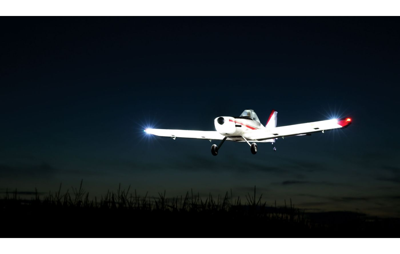 Image for Brave Night Flyer 1.2m BNF Basic with AS3X from Force RC