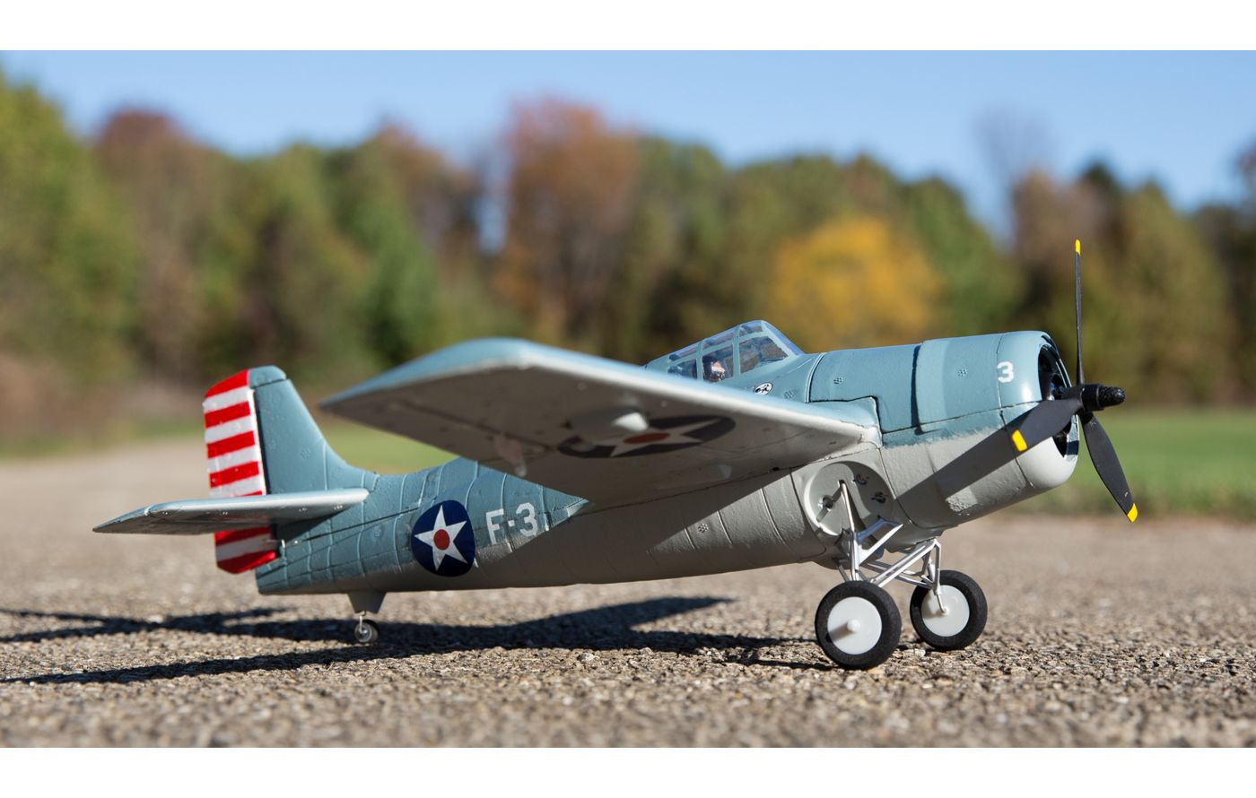 Image for UMX F4F Wildcat BNF Basic from Force RC