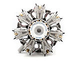 Evolution Engines - 7-Cylinder 160cc 4-Stroke Gas Radial Engine