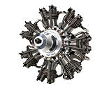 Evolution Engines - 7-Cylinder 77cc 4-Stroke Glow Radial Engine