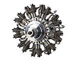 Evolution Engines - 9-Cylinder 99cc 4-Stroke Glow Radial Engine