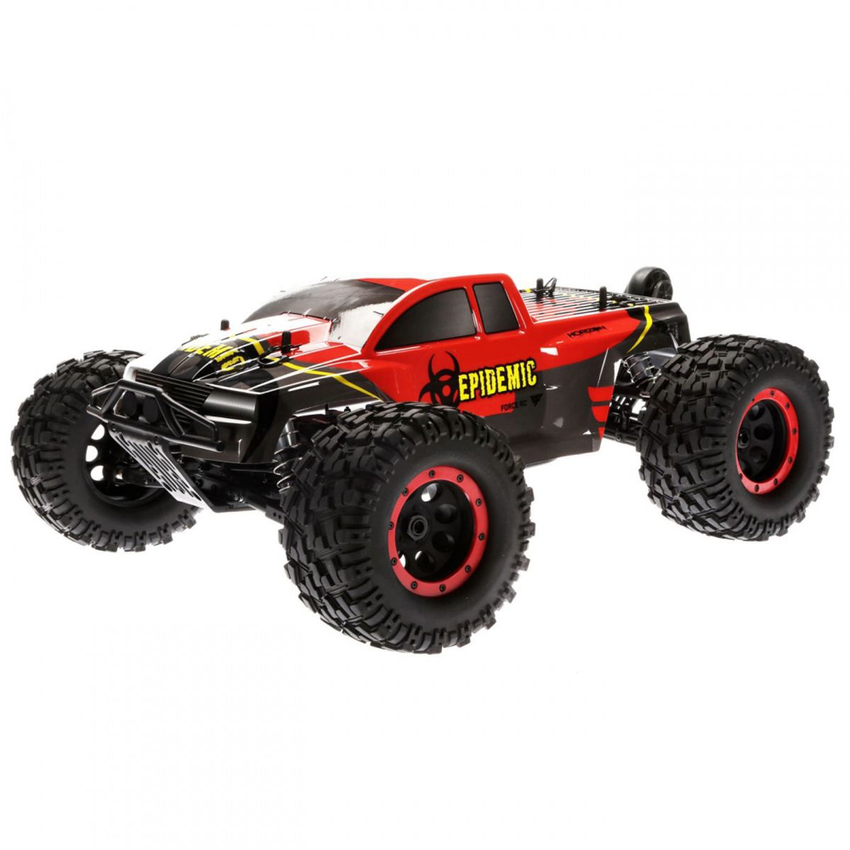 08f11a51f8 Details about Force RC 1 8 Epidemic 4 Wheel Drive Monster Truck Brushless  Ready to Run