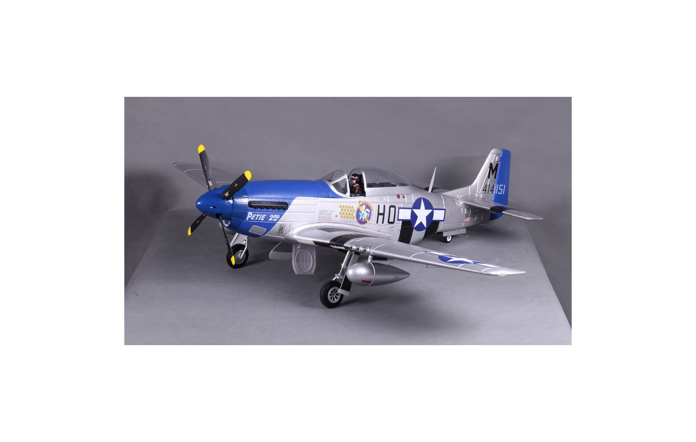 Image for P-51D Petie 2nd V8 PNP, 1450mm from Force RC