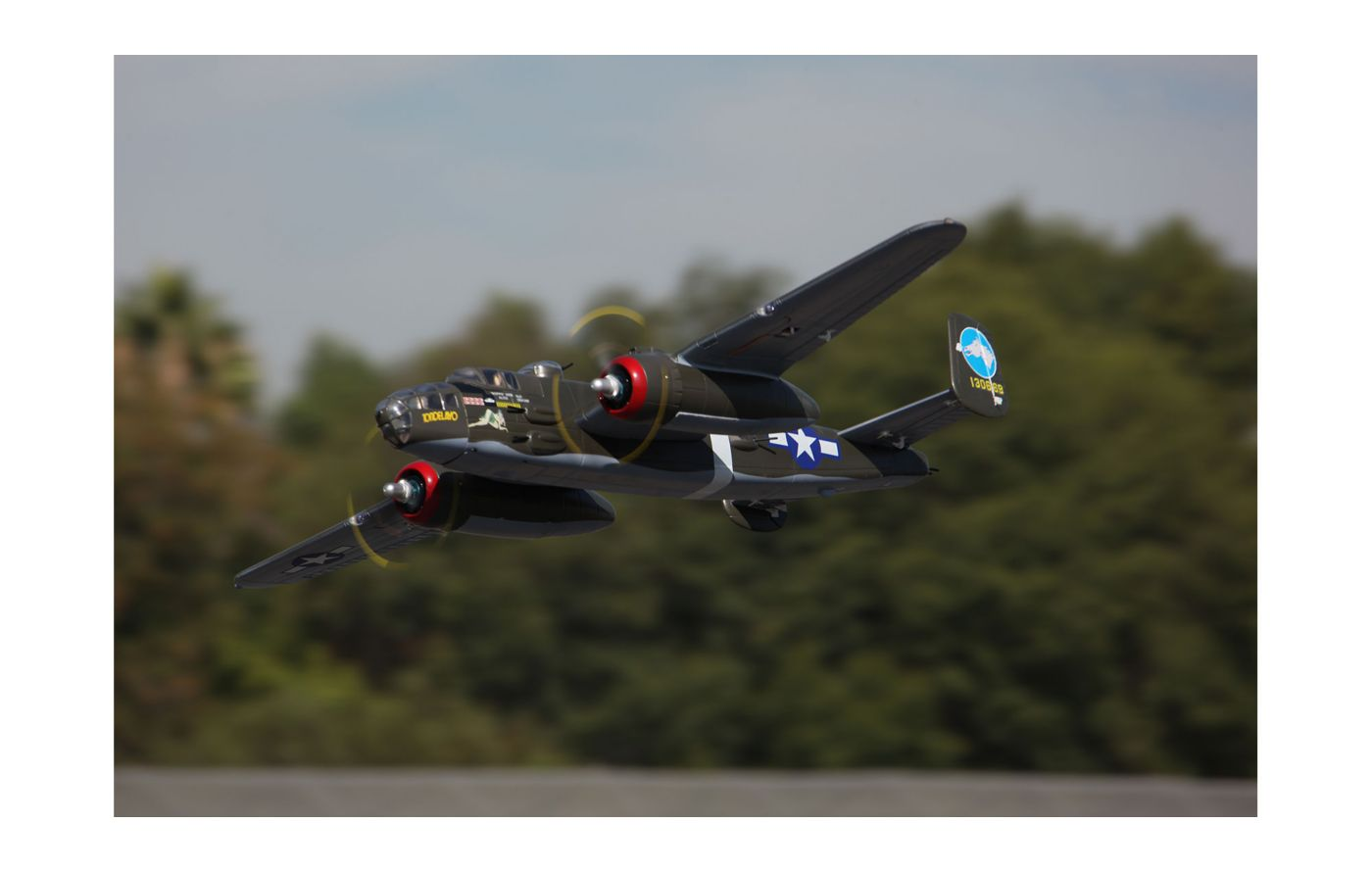 Image for B-25 Mitchell PNP, 1470mm: Green from Force RC
