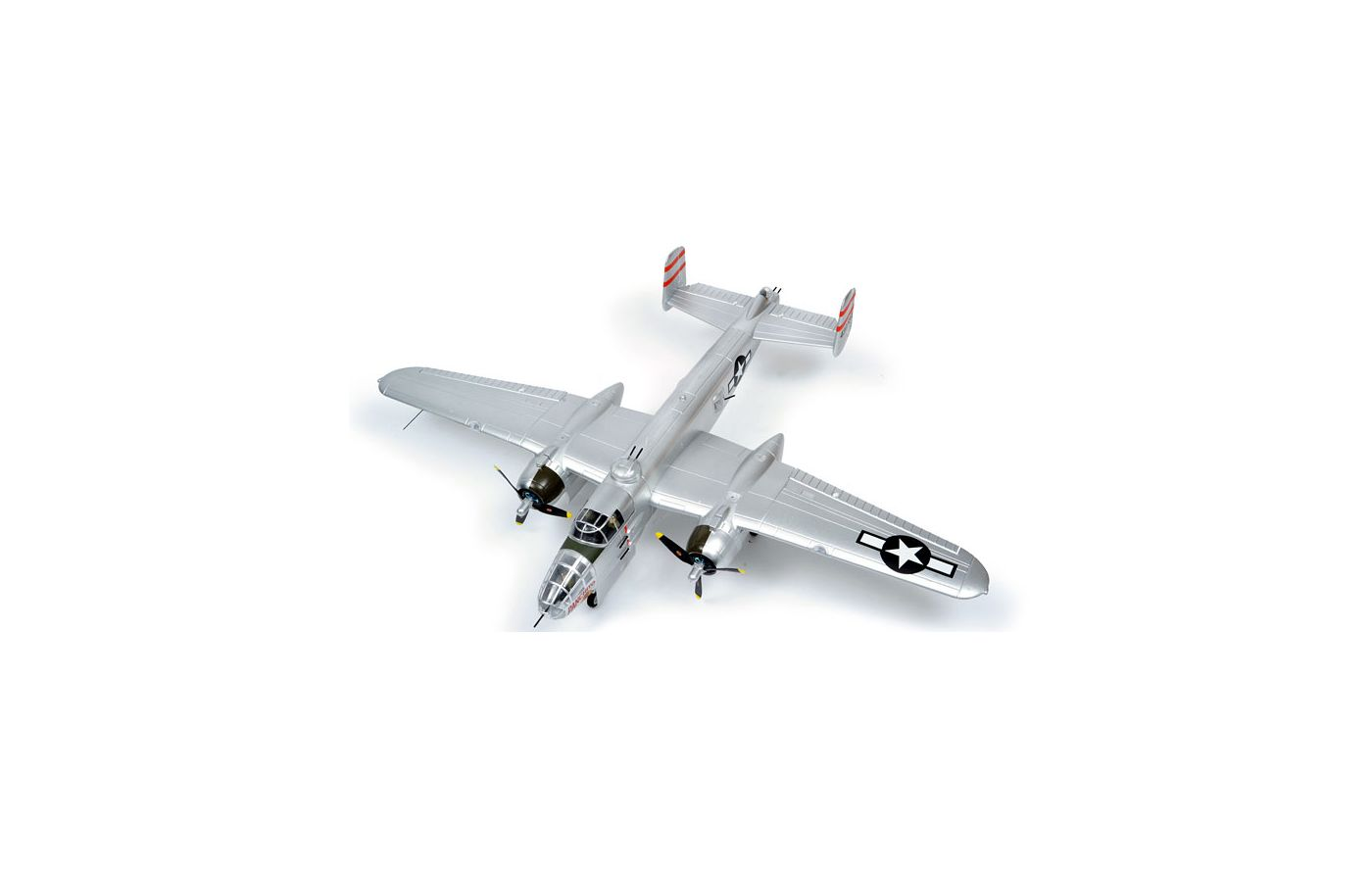 Image for B-25 Mitchell PNP, 1470mm: Silver from Force RC