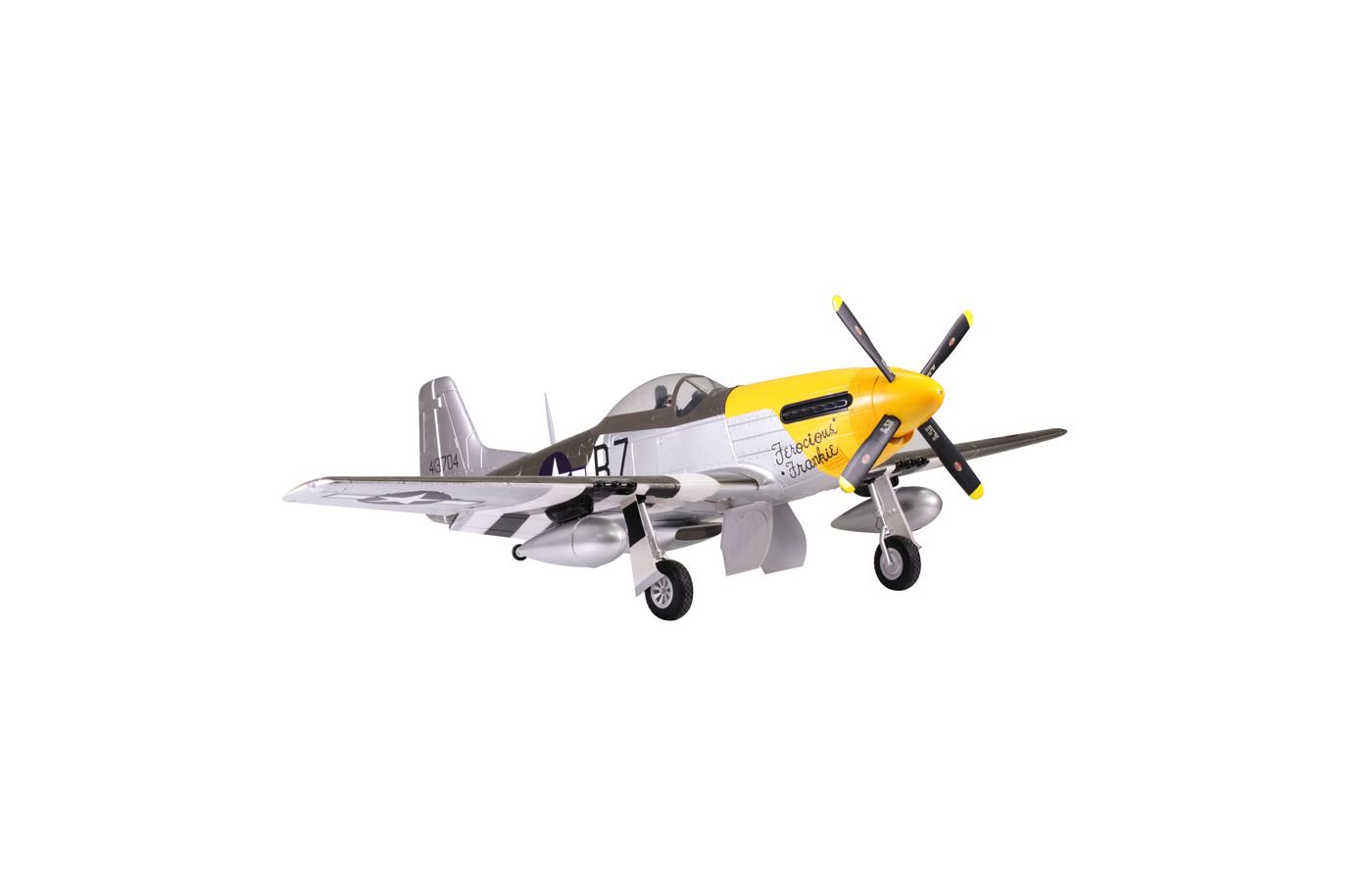 Image for P-51D Ferocious Frankie PNP, 1700mm from Force RC