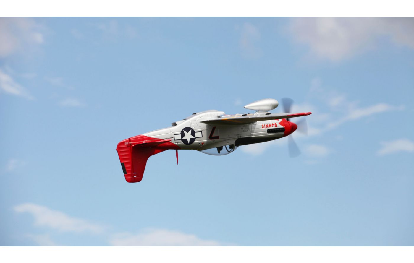Image for P-51D Red Tail PNP, 1700mm from Force RC